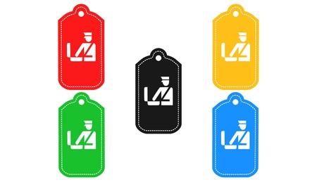 Customs icon,sign,3D illustration