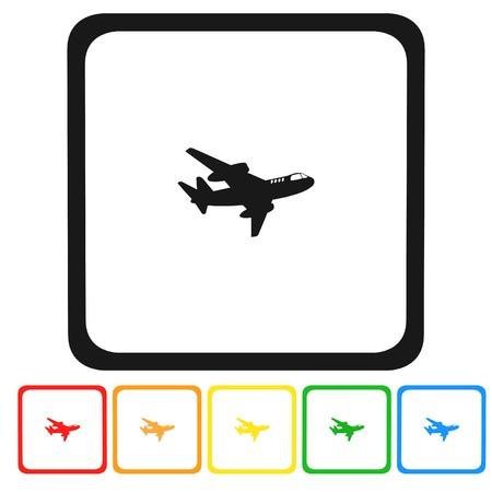 plane icon,sign,3D illustration