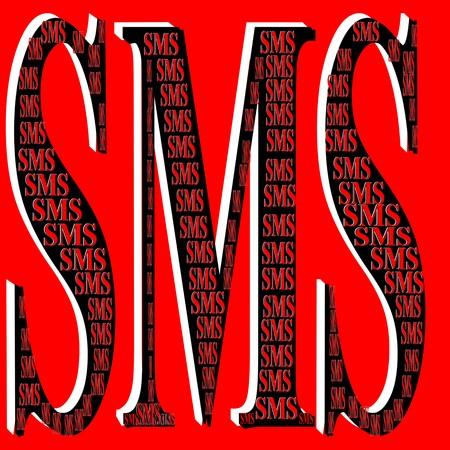 Message icon 3D illustration