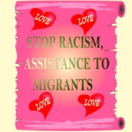 racism icon 3D illustration Stockfoto - 100612871
