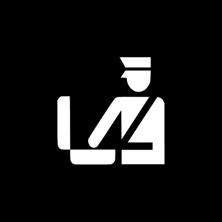 Customs icon,sign,best 3D illustration