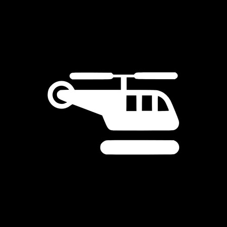 helicopter icon,sign,best 3D illustration