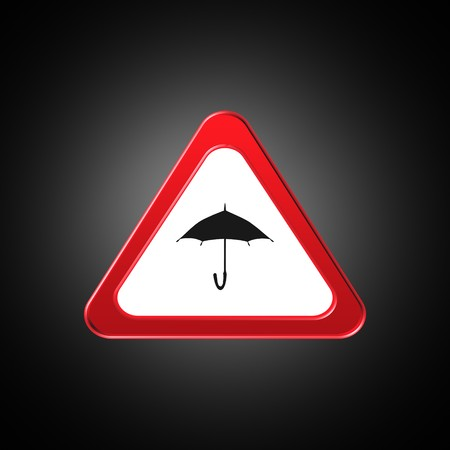 Umbrella icon,sign,best 3D illustration Banque d'images - 101917387