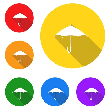 Umbrella icon,sign,best 3D illustration Banque d'images - 103243228