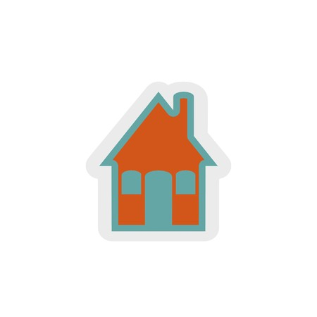 home icon 3D illustration