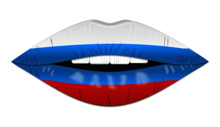 Flag of Russia,icon,sign,best 3D illustration 写真素材