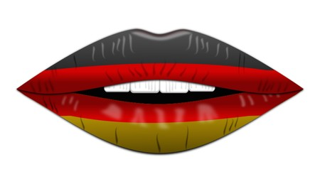 German flag,icon,sign,best 3D illustration