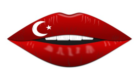 Turkish flag,icon,sign,best 3D illustration