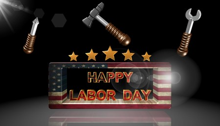 Labor day,icon,sign,best 3D illustration