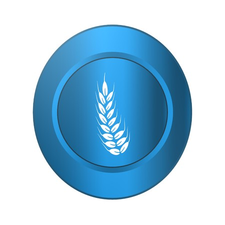Gluten free,icon,sign,best 3D illustration