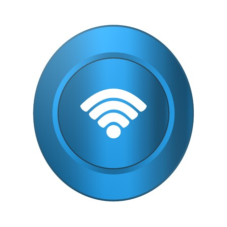 Wireless,icon,sign,best 3D illustration 写真素材