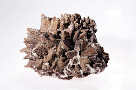 siderite on the white background