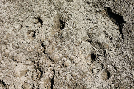 建設中の砂とセメント 写真素材