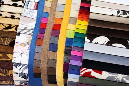 Muestras de tela para textil y muebles Foto de archivo - 93531053