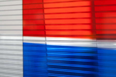 lexan in various colors, note shallow depth of field