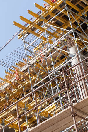 high tech: construction site with equipment Stock Photo