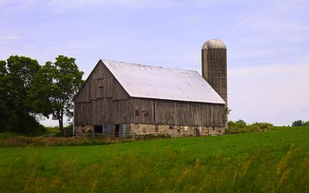 Typical Onta rural scenery Stock Photo - 7231927