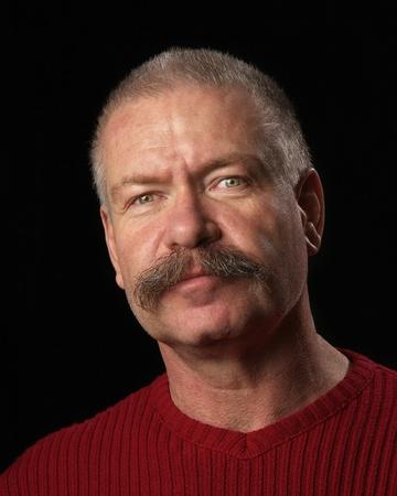 Man with Bushy Moustache
