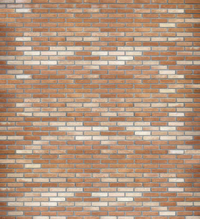 New Brick Wall - Background Stock Photo