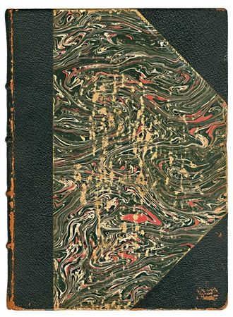 Book cover vintage � with path