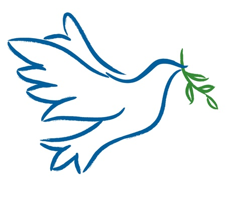 Dove � Symbol of Peace Vector