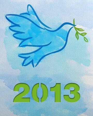 Dove – Symbol of Peace - 2013 photo