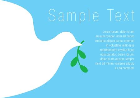 Dove - Symbol of Peace - Background