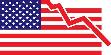 American Flag – Recesion