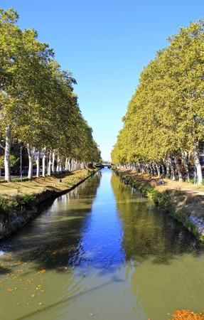 Canal du Midi - Toulouse - France