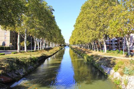 midi: Canal du Midi - Toulouse - France