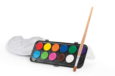 Paintbrush Waiting for Young Artist photo