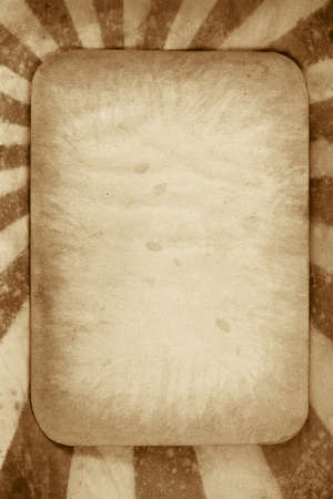 starburs: Sunburst Grunge retro con papel viejo