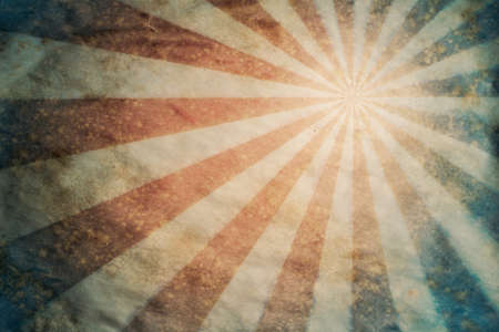 Sunbeam retro grunge background