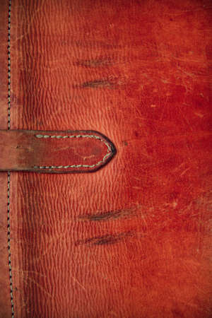 Vintage leather textured background Banque d'images