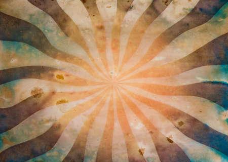 fondo de circo: Sunbeam viejo grunge documento de antecedentes Foto de archivo
