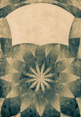 Sunburst grunge old paper background photo