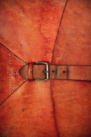 Vintage-Leder mit einer Schnalle f�r Buchcover