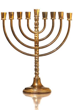 jewish festival: Hanukkah menorah