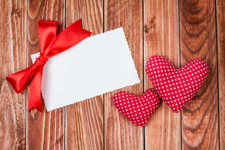 letter u: Valentine card with heart Stock Photo