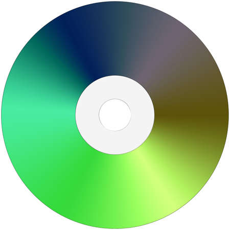 Isolated CD made entireley in PS