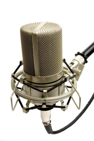 Studio microphone (side view)