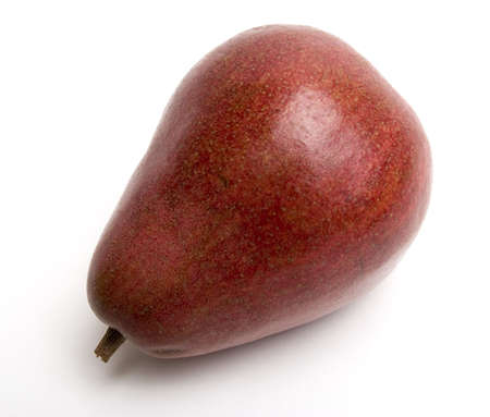Nice looking large red pear.