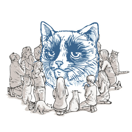 the worship of cat