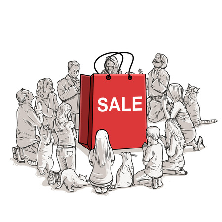 new religion shopping worshipers