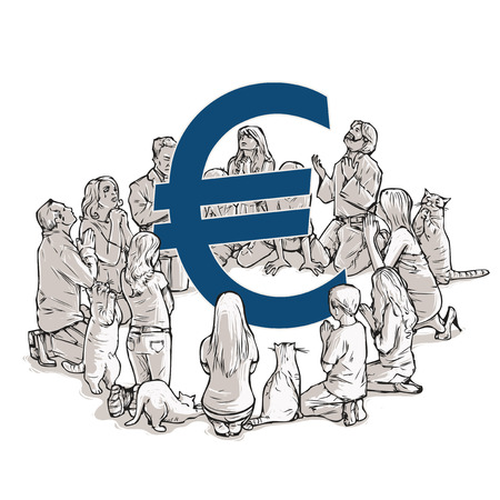 the worship of euro