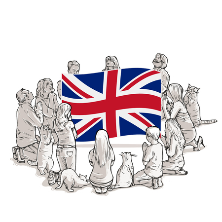 People pray for Great Britain