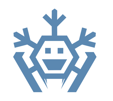 snowflake logo 일러스트