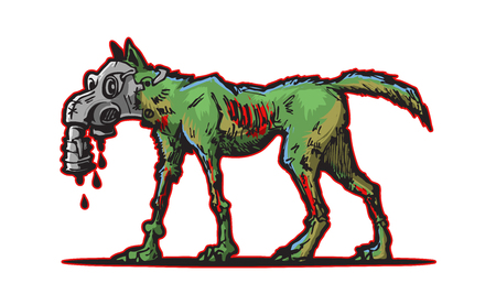 mutant dog logotype