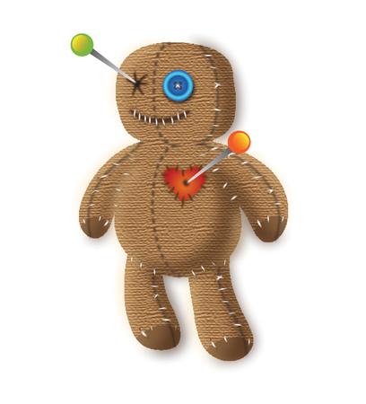Spooky Voodoo Doll