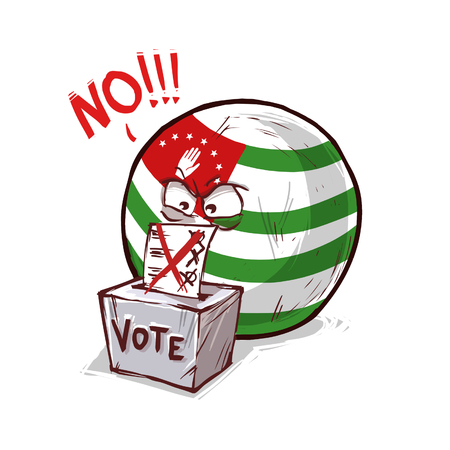 Abkhazia voting no